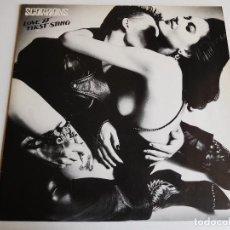 Discos de vinilo: SCORPIONS. LP. LOVE AT FIRST STING. HARVEST 1984. Lote 86743376