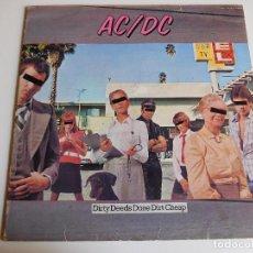 Discos de vinilo: AC/DC. LP. DIRTY DEEDS DONE DIRT CHEAP. USA ATLANTIC 1981. Lote 86744568