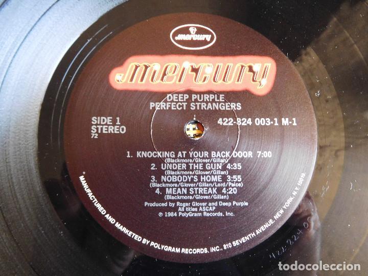 Discos de vinilo: Deep Purple. LP. Perfect Strangers. USA Mercury 1984 - Foto 6 - 86744896