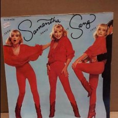 Discos de vinilo: SAMANTHA SANG. FROM DANCE TO LOVE. LP / UNITED ARTISTS - 1979 / MBC. **/***. Lote 86749712