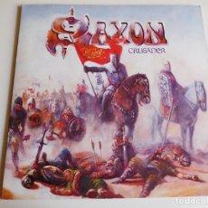 Discos de vinilo: SAXON. LP. CRUSADER. EMI 1984 GATEFOLD. Lote 86750368