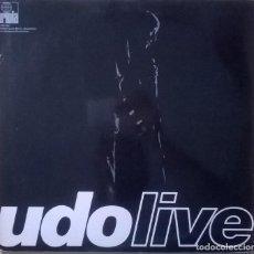 Discos de vinilo: UDO JÜRGENS-UDO LIVE, ARIOLA-79133 XU. Lote 86751148