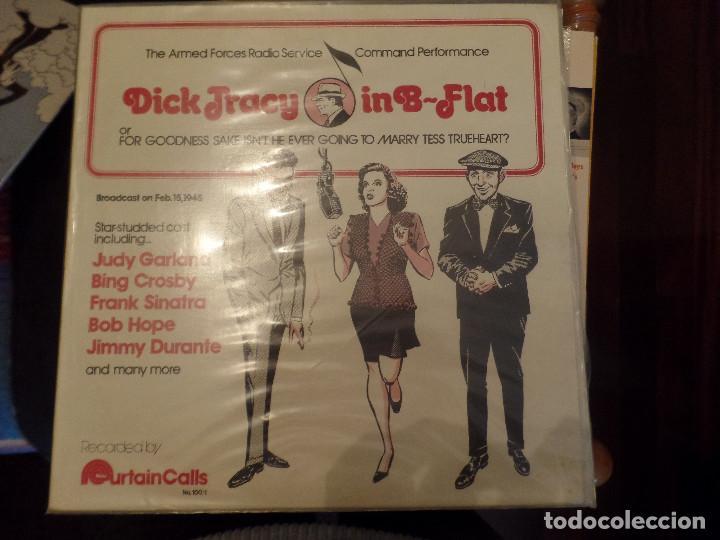 DICK TRACY IN B FLAT JUDY GARLAND, BING CROSBY, FRANK SINATRA, BOB HOPE, JIMMY DURANTE (Música - Discos - LP Vinilo - Bandas Sonoras y Música de Actores )