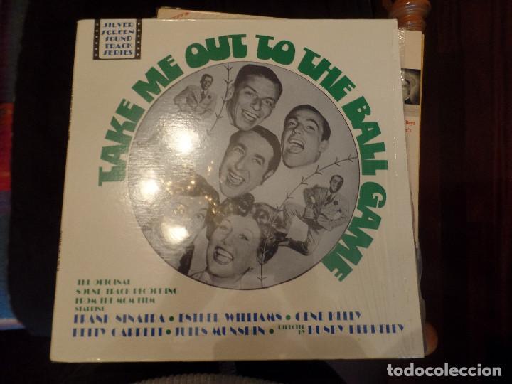 TAKE ME OUT TO THE BALL GAME, FRANK SINATRA, ESTHER WILLIAMS, GENE KELLY (Música - Discos - LP Vinilo - Bandas Sonoras y Música de Actores )