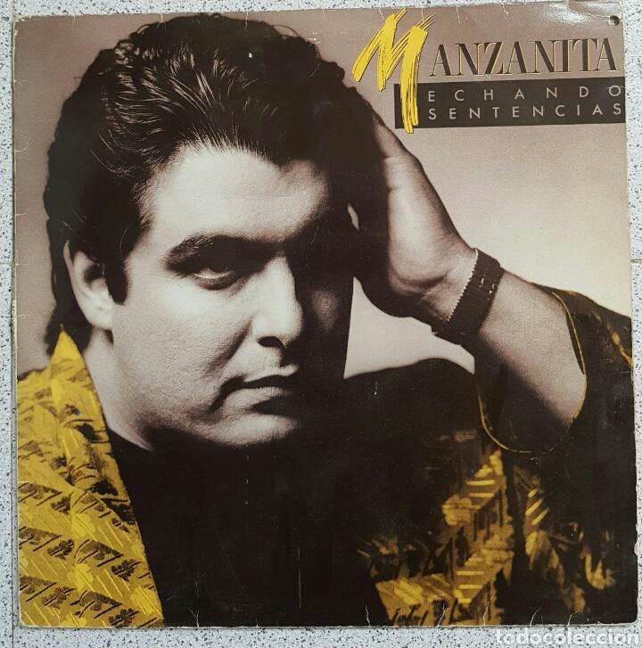 LP MANZANITA ECHANDO SENTENCIAS (Música - Discos - LP Vinilo - Flamenco, Canción española y Cuplé)