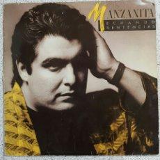 Discos de vinilo: LP MANZANITA ECHANDO SENTENCIAS. Lote 86762747