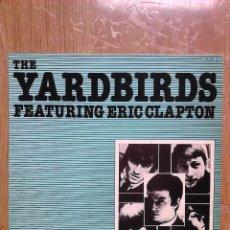Discos de vinilo: THE YARDBIRDS FEAT.ERIC CLAPTON LP 1985/BLUES ROCK/SPAIN/VERY RARE/GOOD. Lote 86778896