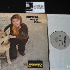 Discos de vinilo: ? RAPHAEL ?– CON EL SOL DE LA MAÑANA LP PRONTO RECORDS ?– PHV-2006 . EDICIÓN USA. Lote 86792776