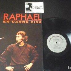 Discos de vinilo: ? RAPHAEL ?– EN CARNE VIVA LP DISCOS CBS INTERNATIONAL ?– HIL-80305 . EDICIÓN USA. Lote 86792904