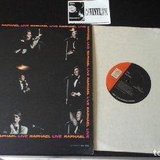Discos de vinilo: ? RAPHAEL ?– LIVE LP UNITED ARTISTS RECORDS ?– UAL 3753 EDICIÓN AMERICANA . Lote 86792988