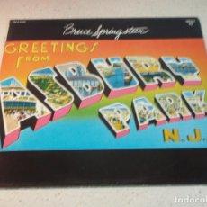 Discos de vinilo: BRUCE SPRINGSTEEN ( GREETINGS FROM ASBURY PARK N.J. ) 1975-HOLANDA LP33 CBS. Lote 142621864