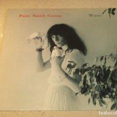 Discos de vinilo: PATTI SMITH GROUP ' WAVE ' NEW YORK - USA 1979 LP33 ARISTA RECORDS. Lote 86804408