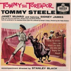 Discos de vinilo: TOMMY STEELE - TOMMY THE TOREADOR (EP INGLES, DECCA RECORDS 1959). Lote 86804948