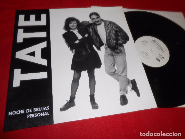 TATE PERSONAL/NOCHE DE BRUJAS MX 12'' 1989 HI-FI DISCOS PROMO SPAIN (Música - Discos de Vinilo - Maxi Singles - Grupos Españoles de los 70 y 80)