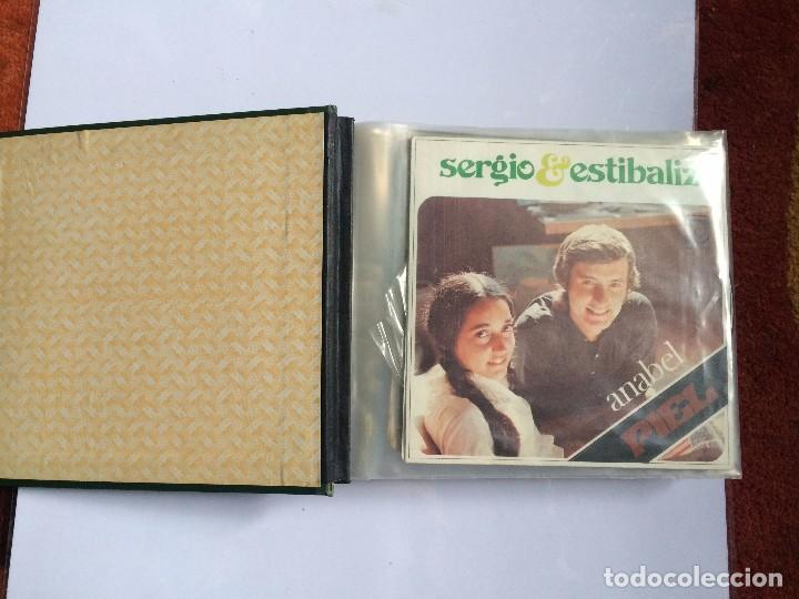 Discos de vinilo: CARPETA PORTA VINILOS (SINGLES) - Foto 3 - 86806648