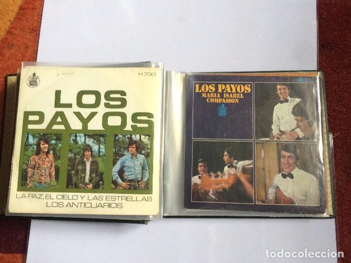 Discos de vinilo: CARPETA PORTA VINILOS (SINGLES) - Foto 5 - 86806648