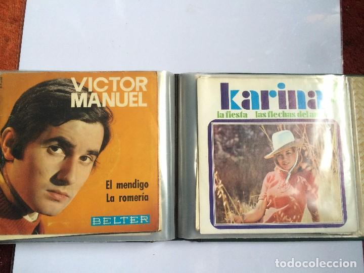 Discos de vinilo: CARPETA PORTA VINILOS (SINGLES) - Foto 6 - 86806648