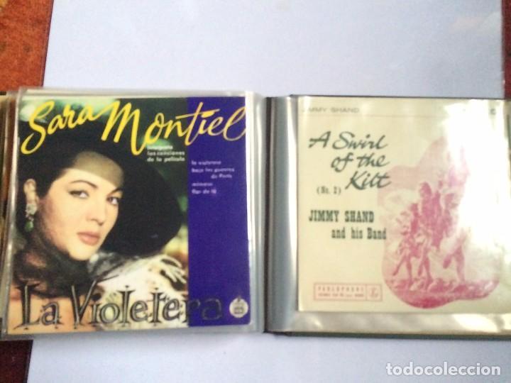 Discos de vinilo: CARPETA PORTA VINILOS (SINGLES) - Foto 8 - 86806648