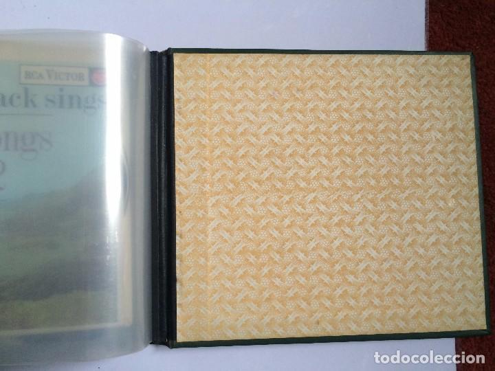 Discos de vinilo: CARPETA PORTA VINILOS (SINGLES) - Foto 10 - 86806648