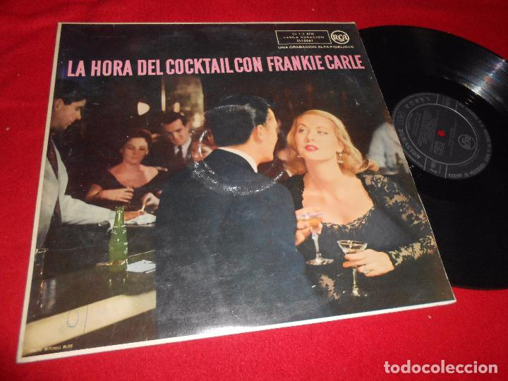 FRANKIE CARLE PIANISTA LA HORA DEL COCKTAIL LP 195? RCA EDICION ESPAÑOLA SPAIN (Música - Discos - LP Vinilo - Orquestas)