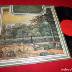 Discos de vinilo: RAFAEL PUYANA JOHANN SEBASTIAN BACH LP 1976 PHILIPS EDICION ESPAÑOLA SPAIN. Lote 86824180