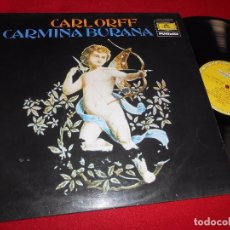 Discos de vinilo: CARMINA BURANA CARLORFF LP 1979 TEUTSCHE GRAMMOPHON EDICION ESPAÑOLA SPAIN. Lote 86824488