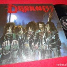 Discos de vinilo: DARKNESS TALES OF THRASH DEATH SQUAD LP 1987 EDICION ALEMANIA GERMANY. Lote 86828700