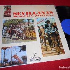 Discos de vinilo: SEVILLANAS DE SEVILLA...¡SEVIYIYA! LP 1969 PROMO SPAIN RECOPILATORIO ROCIO JURADO+LOS DEL RIO. Lote 86829264
