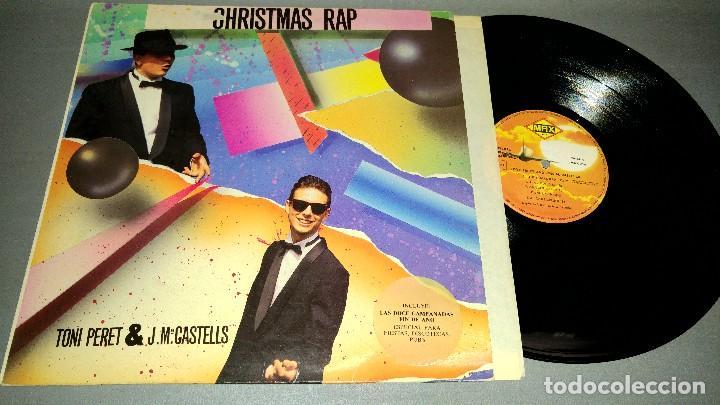 1018- CHRISTMAS RAP MAXI SINGLE 12 PORTADA VG + - DISCO VG + (Música - Discos - Singles Vinilo - Otros estilos)