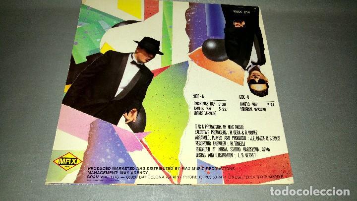 Discos de vinilo: 1018- CHRISTMAS RAP MAXI SINGLE 12 PORTADA VG + - DISCO VG + - Foto 2 - 86834720