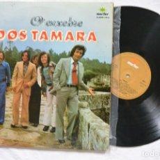 Discos de vinilo: DISCO DOBLE VINILO A MIÑA TERRA GALEGA O ENXEBRE DOS TAMARA. Lote 217662412