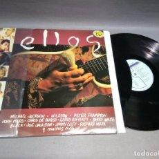 Vinyl records - 918- ELLOS ( RECOPILATORIO) - DISCO VINILO ( LP 2) - PORTADA VG + / DISCO VG ++ - 132385242