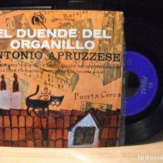 Discos de vinilo: ANTONIO APRUZZESE ( APRUZZESSE ),EL DUENDE DEL ORGANILLO DEL 66 EP . Lote 86875332