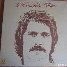 Discos de vinilo: JOSE MARIA PURON LP AMBAR 1977 - ALMA. Lote 210812652