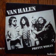 Discos de vinilo: VAN HALEN - PRETTY WOMAN + HAPPY TRAILS . Lote 86909536