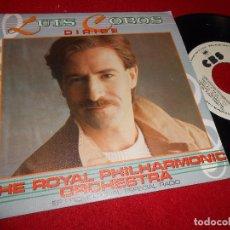 Discos de vinilo: LUIS COBOS DIRIGE THE ROYAL PHILARMONIC ORCHESTRA SINGLE 7'' 1984 CBS PROMO SPAIN. Lote 86913684