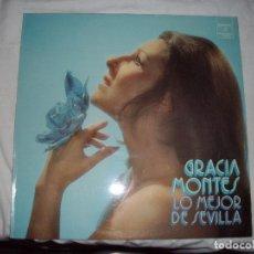 Discos de vinilo: LP GRACIA MONTES LO MEJOR DE SEVILLA. Lote 86914536