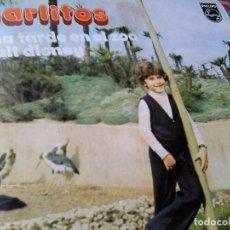 Discos de vinilo: CARLITOS - UNA TARDE EN EL ZOO + WALT DISNEY (PHILIPS, 1972). Lote 86917852