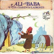 Discos de vinilo: ALI-BABA Y LOS 40 LADRONES - CUENTO INFANTIL : EDITADO POR ZAFIRO 1971. Lote 86929336