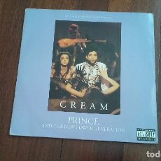 Discos de vinilo: PRINCE AND THE NEW POWER GENERATION-CREAM.MAXI USA 9 TEMAS. Lote 86935200