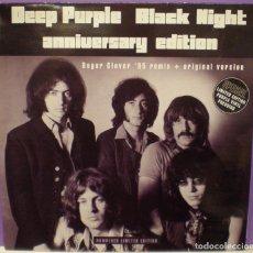 Discos de vinilo: DEEP PURPLE - BLACK NIGHT ANNIVERSARY EDITION - LMTD EDITION, MAXI-SINGLE, PURPLE VINYL, NUMBERED. Lote 86938240