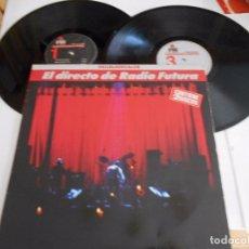 Discos de vinilo: RADIO FUTURA-LP DOBLE-ENCARTES 1989. Lote 86944816