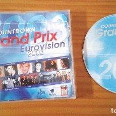 Dischi in vinile: GRAND PRIX COUNTDOWN EUROVISION 2003 - PRESELECCIÓN ALEMANA. Lote 86947956