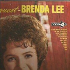 Discos de vinilo: BRENDA LEE LP SELLO DECCA EDITADO EN USA.. Lote 86948840