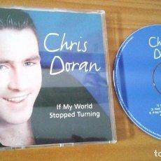 Discos de vinilo: CHRIS DORAN - IF MY WORLD STOPPED TURNING EUROVISION IRLANDIA 2004. Lote 102996792