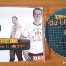 Discos de vinilo: TIE BREAK - DU BIST - EUROVISION 2004 AUSTRIA. Lote 102996954