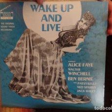 Discos de vinilo: WAKE UP AND LIVE ALICE FAYE. Lote 86955036