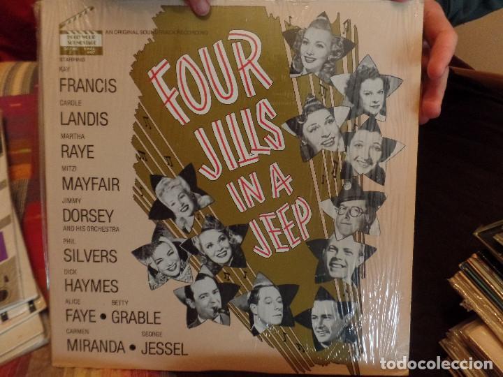 FOUR JILLS IN A JEEP (Música - Discos - LP Vinilo - Bandas Sonoras y Música de Actores )