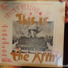Discos de vinilo: IRVING BERLIN'S THISIS THE ARMY. Lote 86955164