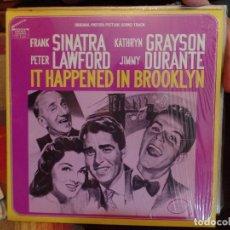 Discos de vinilo: FRANK SINATRA, IT HAPPENED IN BROOKLYN. Lote 86955576